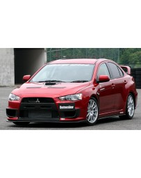 ChargeSpeed 08-10 Evo X Bottom Line Type1 Full LIp Kit Carbon