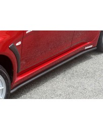 ChargeSpeed 11-16 Evo X Bottom Line Type-1 Side Skirts FRP