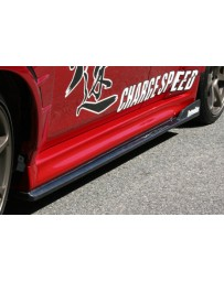 ChargeSpeed 11-16 Evo X Bottom Line Type-2 Side Skirts Carbon