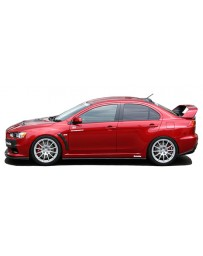 ChargeSpeed 08-10 Evo X Bottom Line Type-1 Side Skirts Carbon