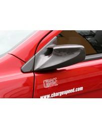 ChargeSpeed 08-17 Lancer EX/ Ralliart Evo X Aero Mirror Carbon