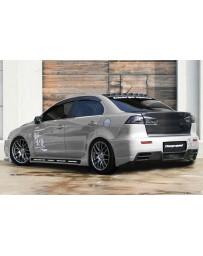 ChargeSpeed 08-17 Mitsubishi Lancer/ Lancer EX Rear Bumper