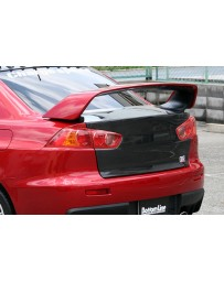 ChargeSpeed 08-17 Lancer EX Ralliart Evo X OEM Carbon Trunk
