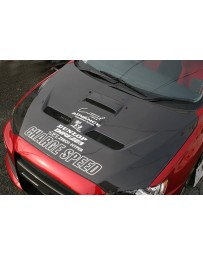 ChargeSpeed 08-17 Lancer EX Ralliart/ Evo X Vented Carbon Hood