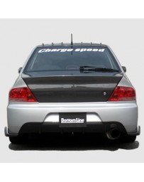 ChargeSpeed Evo IX Bottom Line FRP Rear Caps JDM Fitment Only