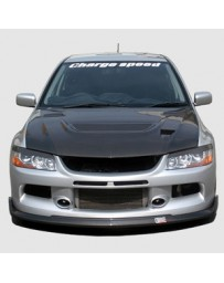 ChargeSpeed 06-07 Evo IX Bottom Line Front Lip FRP