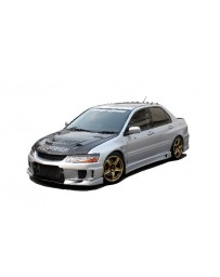 ChargeSpeed Evo VII, VIII & IX Type-2 Full Kit JDM Rear Bumper