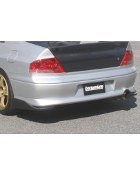 ChargeSpeed 02-05 Evo VII & VIII Bottom Line FRP Rear Caps JDM