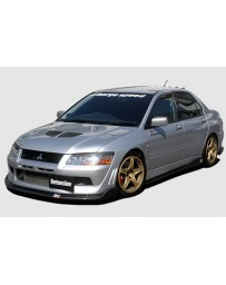 ChargeSpeed 2002 Evo VII Bottom Line Full Lip Kit JDM Fitment