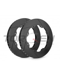 R35 GT-R Racing Brake RB Slotted Front Rotor Disc Rings - OEM Replacement 2012+