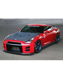 ChargeSpeed 2007-2011 Nissan GTR Full Kit Carbon
