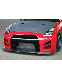 ChargeSpeed 2007-2020 Nissan GTR Front Bumper CF