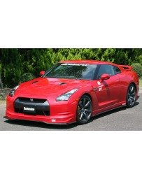 ChargeSpeed 2007-2011 Nissan GTR Bottom Line FRP Lip Kit