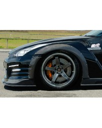 ChargeSpeed 2012-2016 Nissan GTR Carbon Front Over Fender