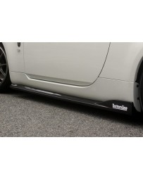 ChargeSpeed Nissan 03-08 350Z Bottom Line Side Skirts (FRP)