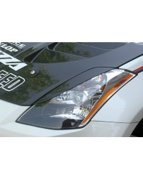 ChargeSpeed Nissan 03-08 350Z Eye Brows Carbon